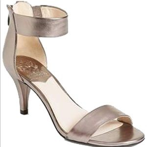 "Vince Camino Marleen sandal in ""Steel"".  Size 6"